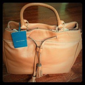 Cole Haan Loveth double strap large handbag
